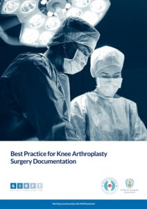 Knee arthroplasty best practice front cover