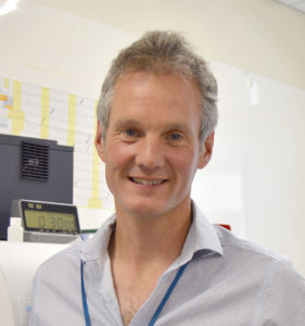 Pathology joint clinical lead Tom Lewis