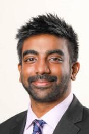 SSI clinical fellow Annakan Navaratnam