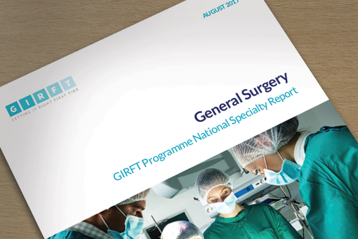 GIRFT General Surgery Report Published Story