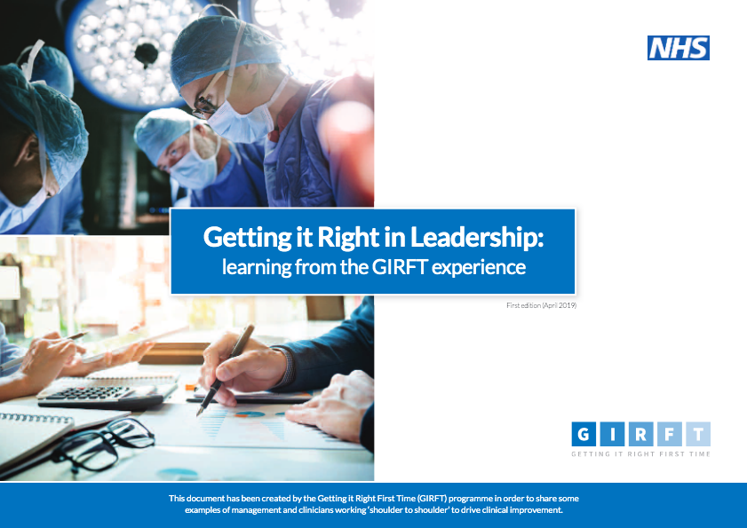 Getting it Right in Leadership report cover