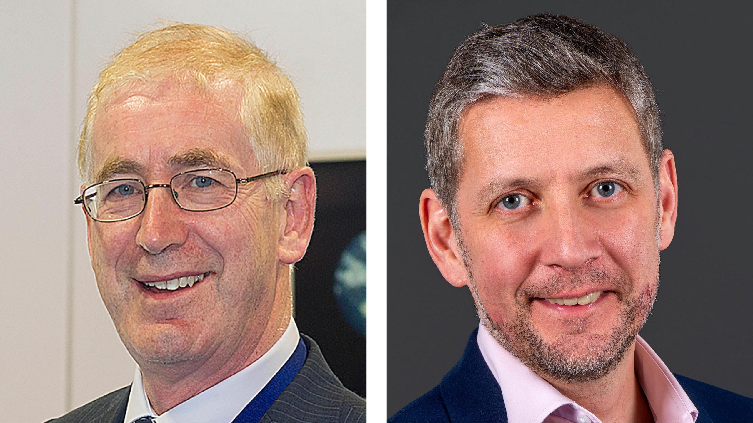 Kieran O'Flynn and John Mcgrath, clinical leads for urology