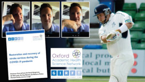 Former England cricketer Rob Key, who appeared on a webinar about stroke care during the COVID-19 pandemic