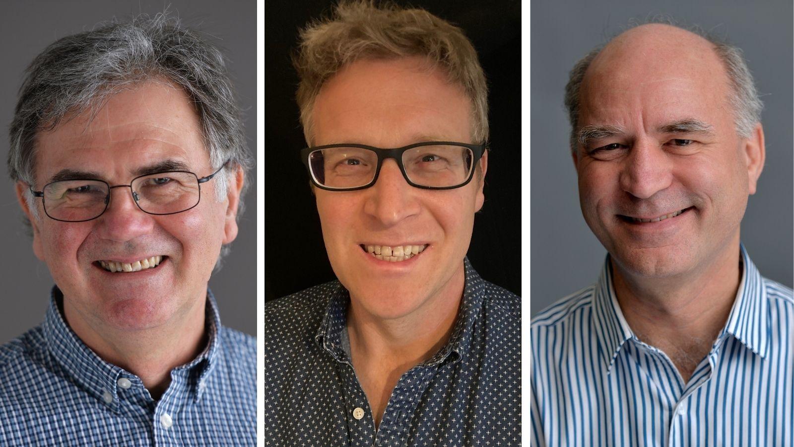 Mark Lansdown, William Gray and Jamie Day
